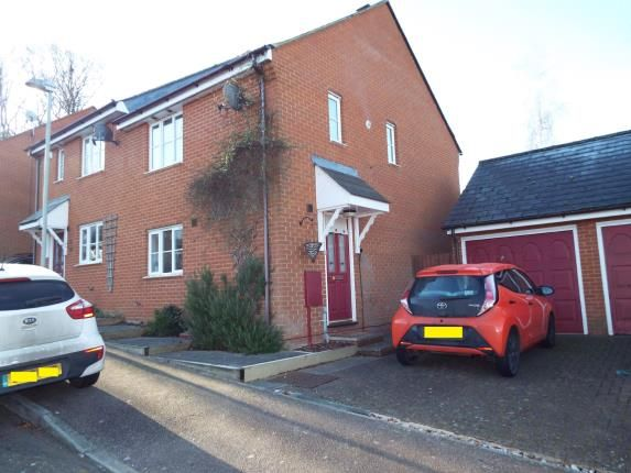 Thumbnail Semi-detached house for sale in Almond Court, Chartham, Canterbury, Kent