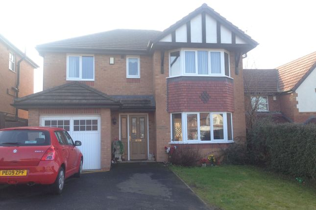 Thumbnail Detached house to rent in Beaumaris Close, Acrefair, Wrexham