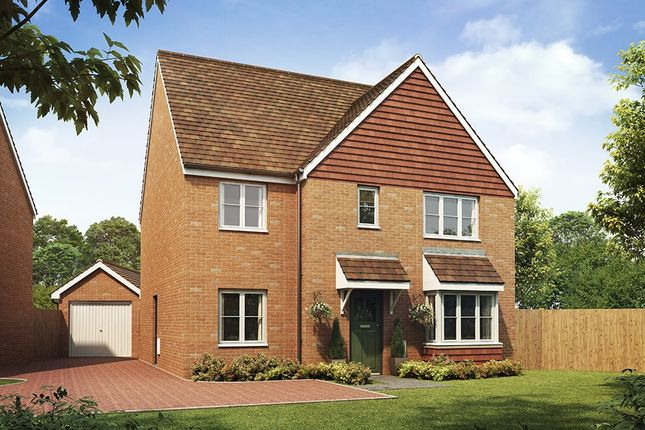 "Thumbnail Detached house for sale in ""The Corfe"" at Southfleet Road, Swanscombe"