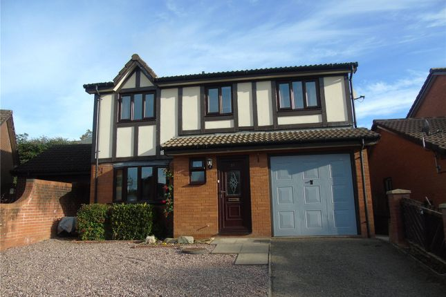 4 bed detached house for sale in Little Henfaes Drive, Welshpool, Powys SY21