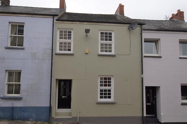 Thumbnail Terraced house for sale in North Street, Haverfordwest