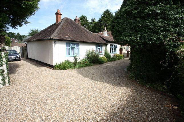 Thumbnail Detached bungalow for sale in Brookside, Farnham, Surrey