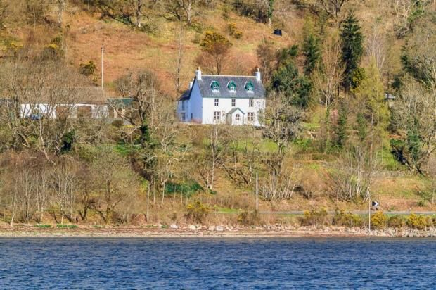 Thumbnail Detached house for sale in Cuil House, Cairndow, Argyll