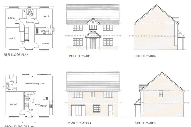 Thumbnail Detached house for sale in Leckwith Drive, Bridgend