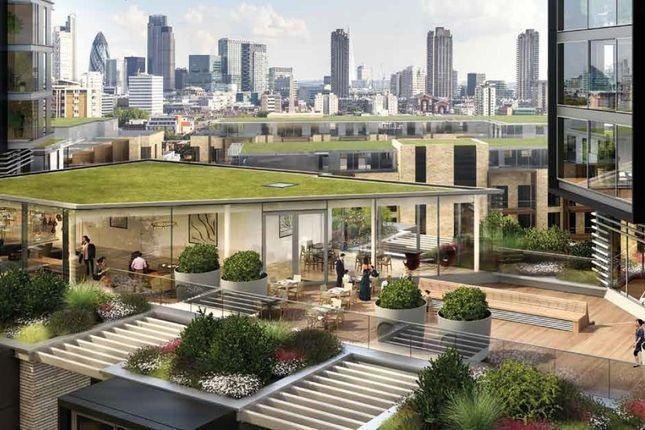 Thumbnail Flat to rent in 250 City Road, Carrara Tower, London