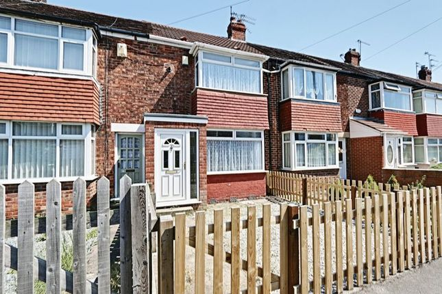 2 bed terraced house for sale in Dayton Road, Hull