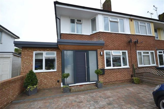 Thumbnail End terrace house for sale in Ardingly Drive, Goring-By-Sea, Goring By Sea, West Sussex