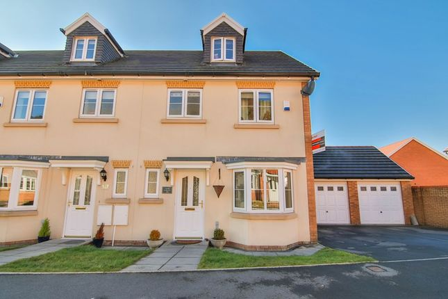 Thumbnail End terrace house for sale in Larch Lane, Tredegar