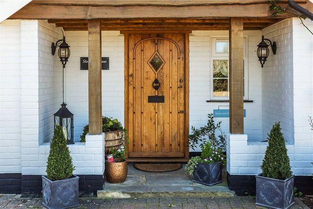 Front Door of Pennypot Lane, Chobham, Surrey GU24
