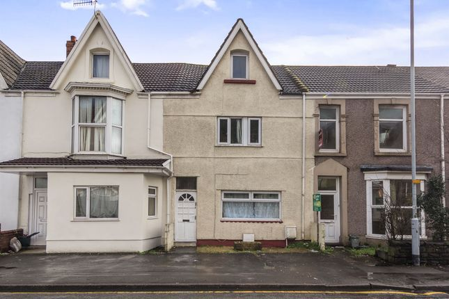 Thumbnail Terraced house for sale in King Edwards Road, Swansea