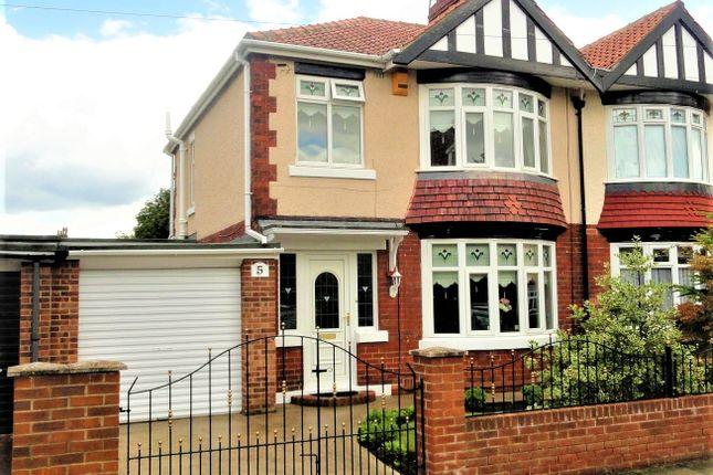 Thumbnail Semi-detached house for sale in Eldon Grove, Hartlepool