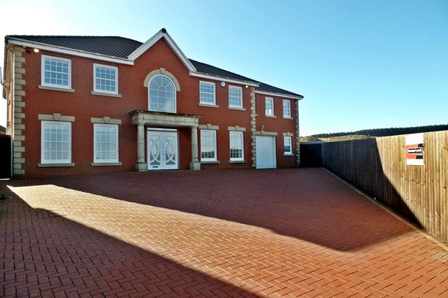 Thumbnail Detached house for sale in Heol Corn Du, Beacon Heights, Merthyr Tydfil