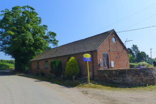 Thumbnail Barn conversion to rent in Rowton, Telford