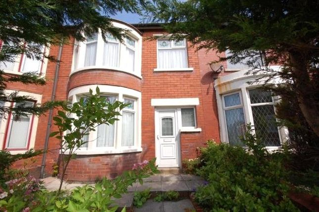 Thumbnail Terraced house to rent in Cumberland Avenue, Blackpool