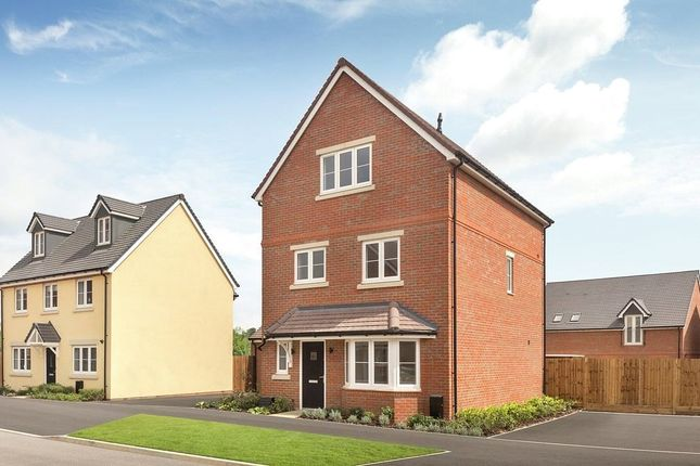 Thumbnail Detached house for sale in The Chichester Madeley B, Shopwyke Lakes, Shopwhyke Road, Chichester