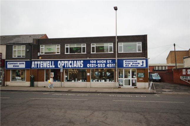 Thumbnail Office to let in First Floor, 100 High Street, West Bromwich, West Midlands