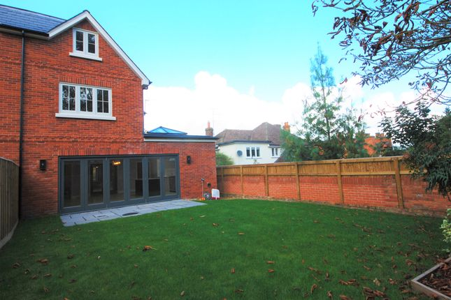 Thumbnail Semi-detached house to rent in St. Marks Road, Henley-On-Thames, Oxfordshire