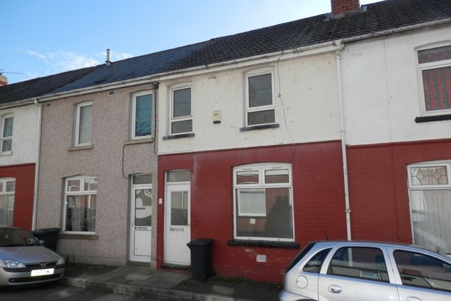 Thumbnail Terraced house to rent in Rectory Road, Crumlin, Newport