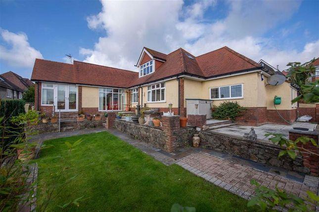 Thumbnail Detached bungalow for sale in Lon Cedwyn, Sketty, Swansea