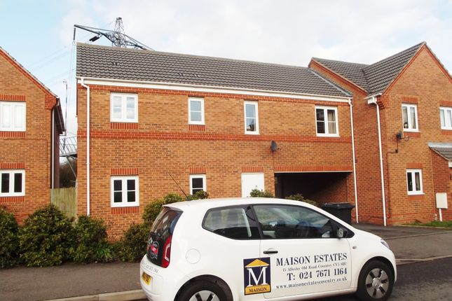 Thumbnail End terrace house to rent in Water Lily Way, Nuneaton