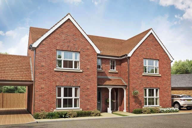 "Thumbnail Semi-detached house for sale in ""The Hatfield "" at Folly Lane, Hockley"
