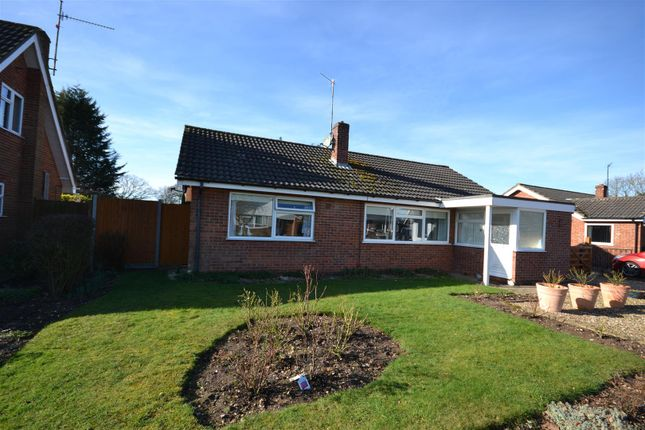 Thumbnail Detached bungalow for sale in The Grove, Grimston, King's Lynn