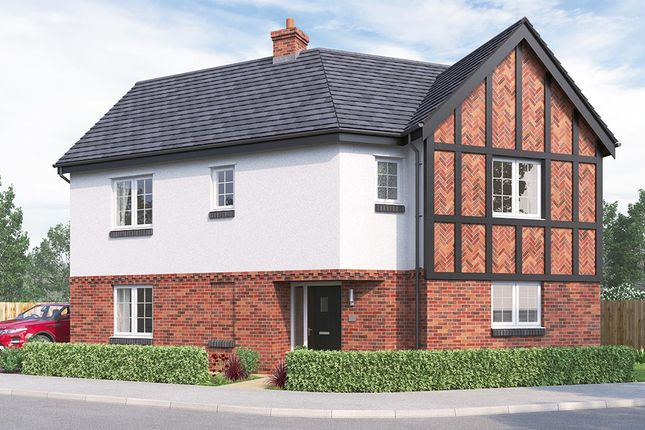 "Thumbnail Detached house for sale in ""The Oldbury"" at Russell Drive, Wollaton, Nottingham"