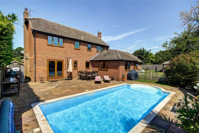 Thumbnail Detached house for sale in Worlds End, Beedon, Newbury, Berkshire
