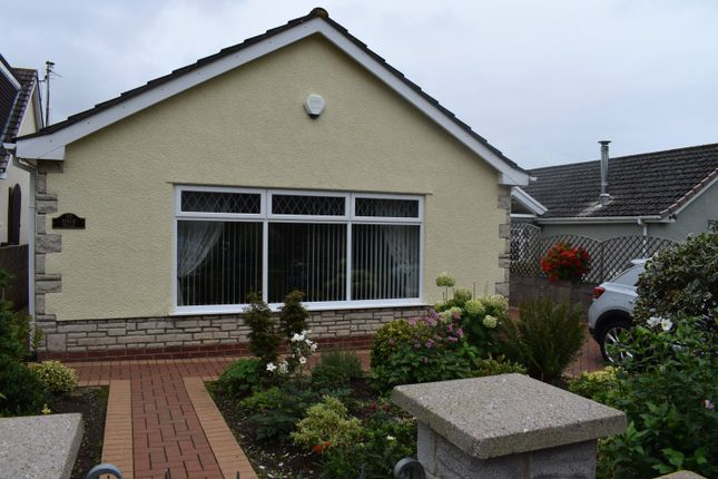 Thumbnail Detached bungalow for sale in Birch Walk, Danygraig, Porthcawl