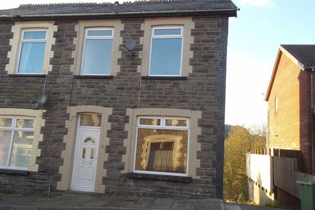 Thumbnail End terrace house to rent in Glancynon Terrace, Abercynon, Mountain Ash