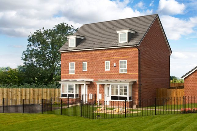"Thumbnail End terrace house for sale in ""Woodbridge"" at Station Road, Methley, Leeds"