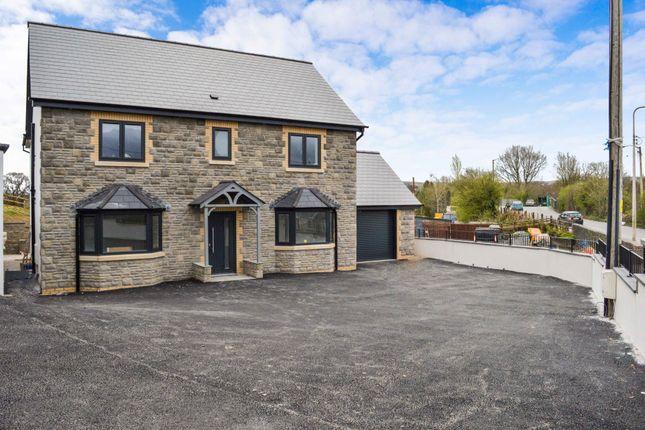 Thumbnail Detached house for sale in Efail Shingrig, Trelewis, Treharris