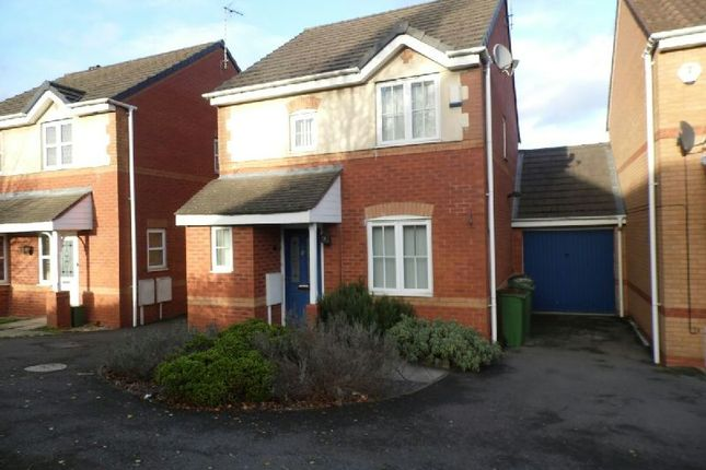 Thumbnail Detached house to rent in Jewsbury Way, Thorpe Astley, Leicester