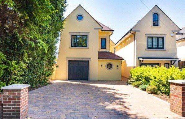 Thumbnail Detached house for sale in St Peters Road, Lower Parkstone, Poole, Dorset