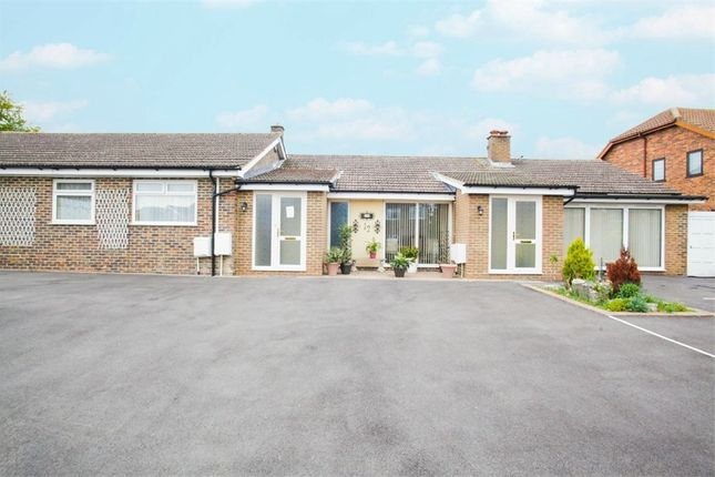 Thumbnail Terraced bungalow for sale in 12 Tithe Close, Codicote, Hitchin, Hertfordshire