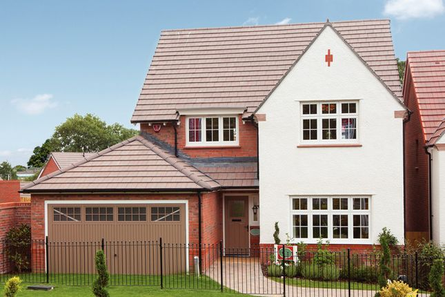 Thumbnail Detached house for sale in Canal View, The Toppings, Garstang, Lancashire
