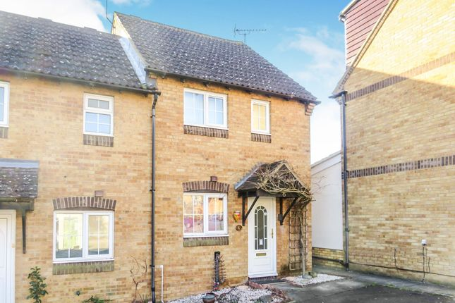 Terraced house for sale in Chennells Close, Hitchin