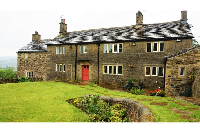 Thumbnail Farmhouse for sale in Derbyshire Level, Glossop
