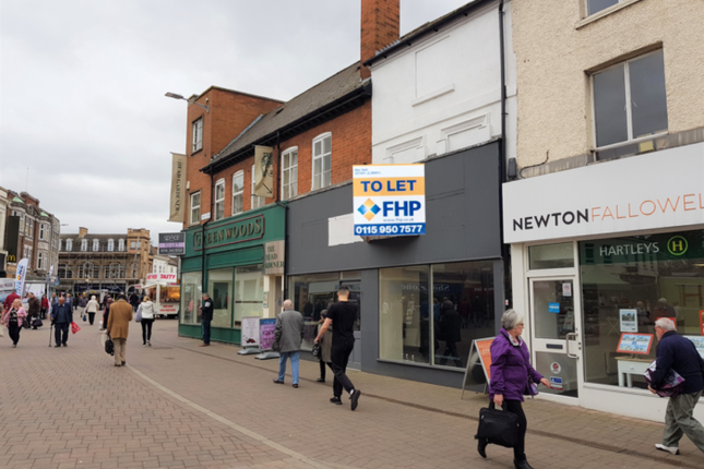 Thumbnail Retail premises to let in 1 – 2 Swan Street, 1 – 2 Swan Street, Loughborough