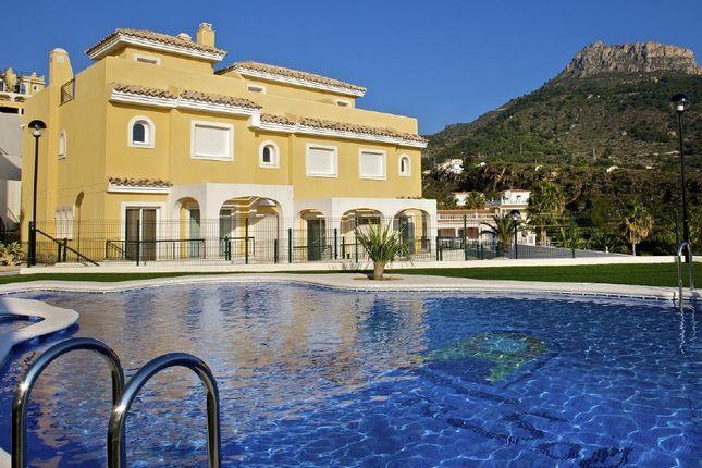 Thumbnail Semi-detached house for sale in Calpe, Alicante, Valencia, Spain