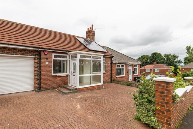 Thumbnail Semi-detached bungalow to rent in Denhill Park, Benwell, Newcastle Upon Tyne