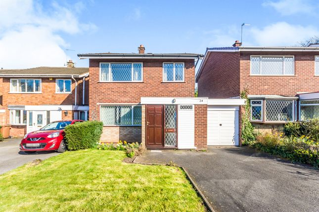 Thumbnail Detached house for sale in Leigh Close, Walsall