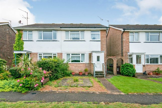 3 bed semi-detached house for sale in Bramble Drive, Hailsham BN27