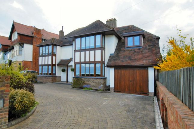 Thumbnail Detached house for sale in Bathurst Road, Folkestone