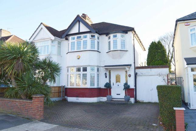 Semi-detached house for sale in Carlton Road, Gidea Park, Romford