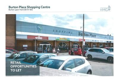 Thumbnail Retail premises to let in 8B & 8C, Burton Place, Burton Upon Trent, Staffordshire