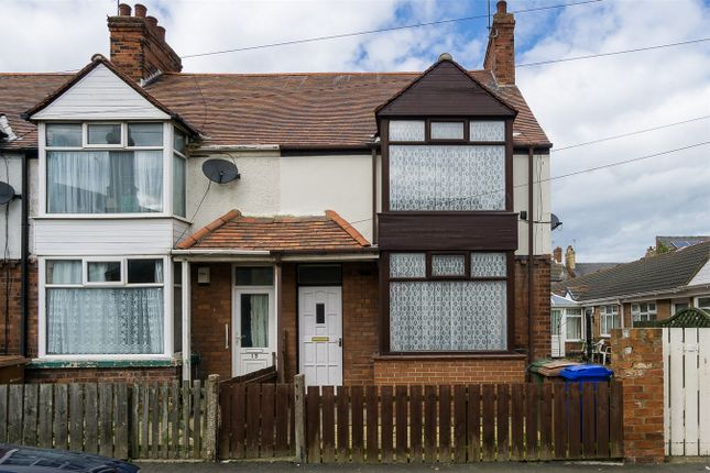 Thumbnail End terrace house to rent in Princes Avenue, Withernsea, East Riding Of Yorkshire