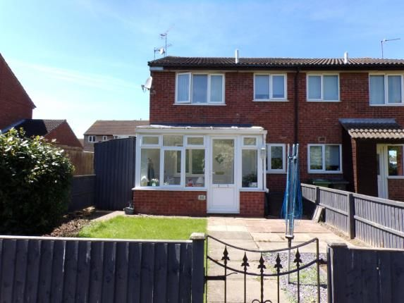 Thumbnail Terraced house for sale in Thorpe Field Drive, Thurmaston, Leicester, Leicestershire