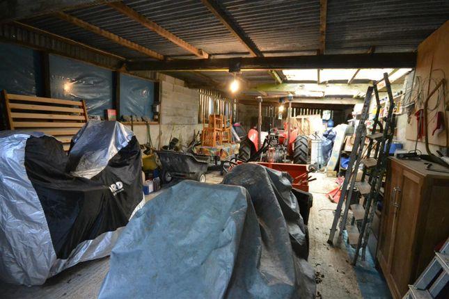 Inside Former Lambing Shed/Workshop