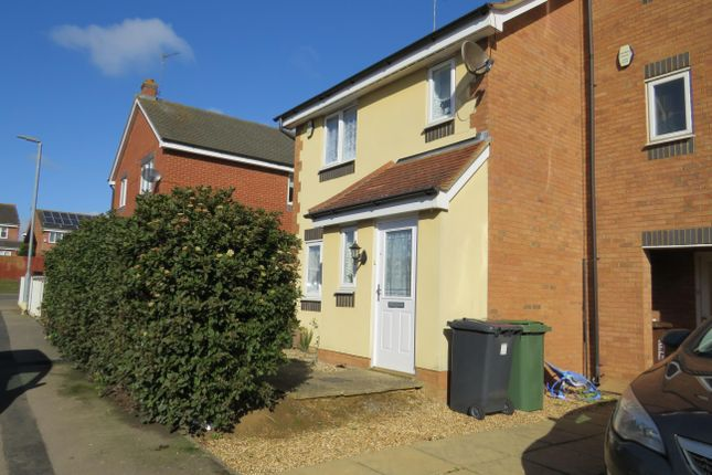 Thumbnail Detached house to rent in Violet Close, Corby